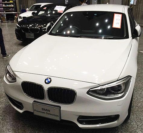 BMW116i前面画像