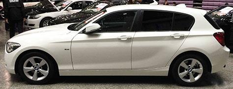 BMW116i側面画像