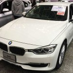 BMW320d前面画像