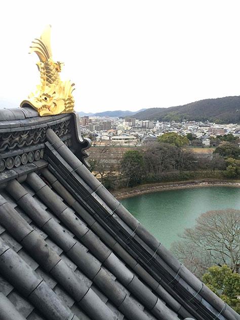 岡山城天守閣の画像