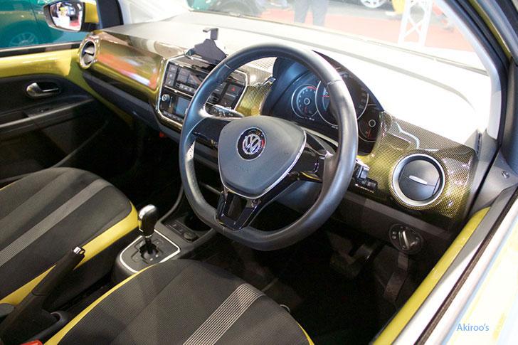 VW up!の内装