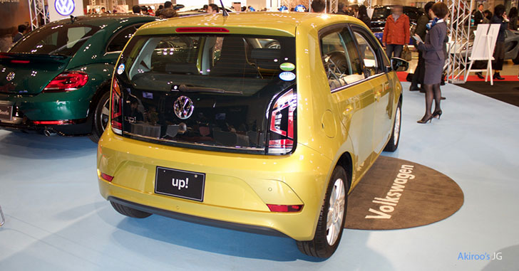 VW up!のリア
