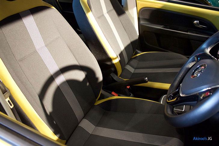 VW up!のシート