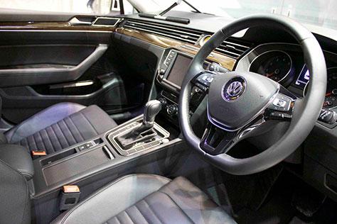 VWパサートヴァリアント内装画像