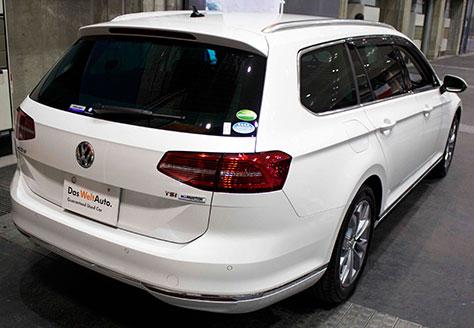 VWパサートヴァリアント後部画像
