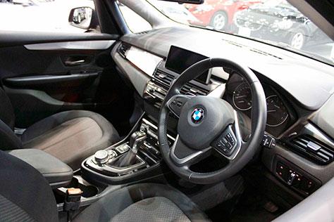 BMW218iアクティブツアラー内装画像