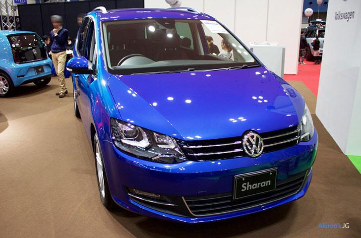 2代目 VW シャラン ハイラインのフロント