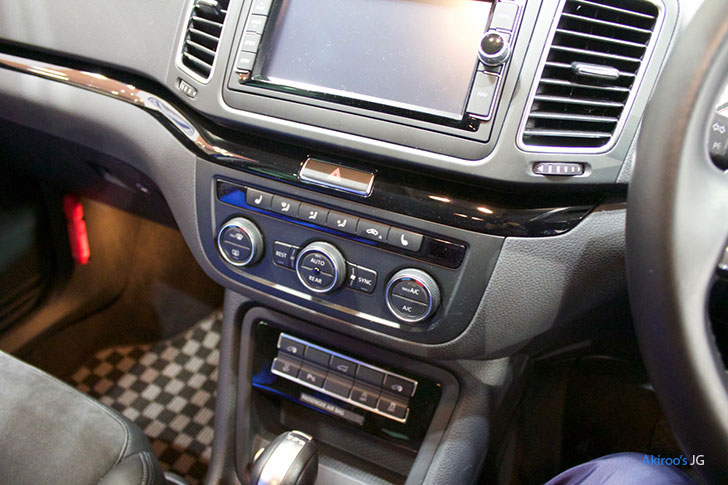 2代目 VW シャラン ハイラインのエアコン