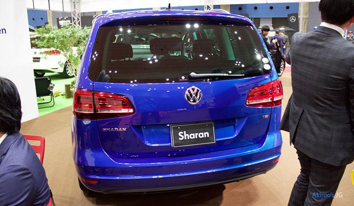 2代目 VW シャラン ハイラインのリア