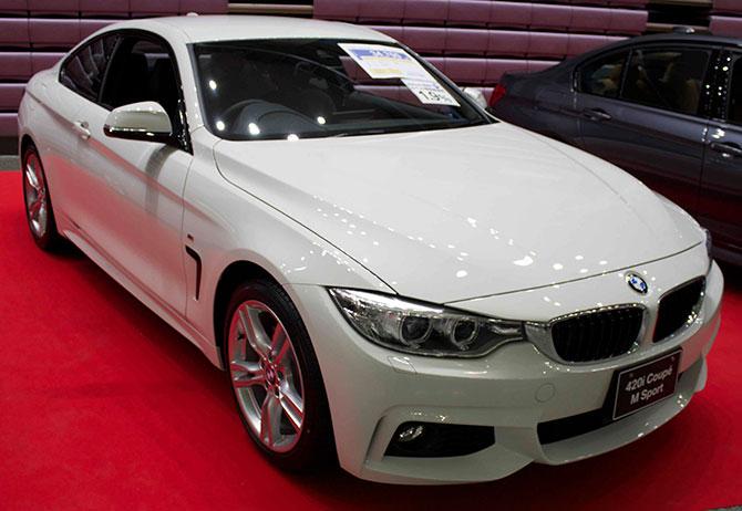 BMW435iクーペ前面画像