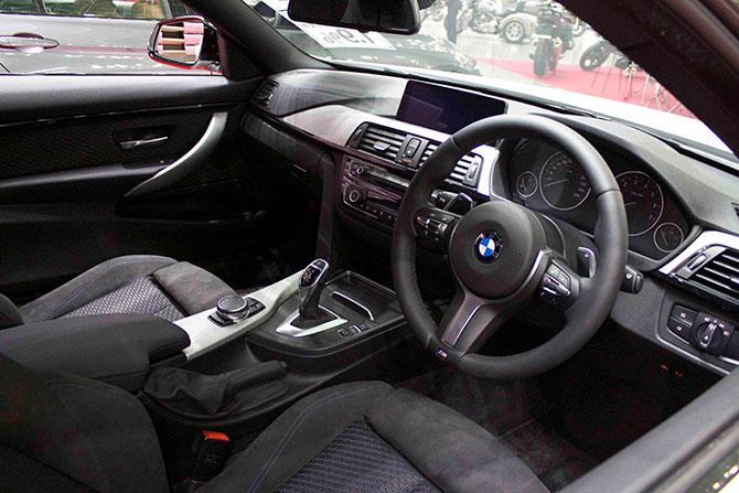 BMW435iクーペ内装画像