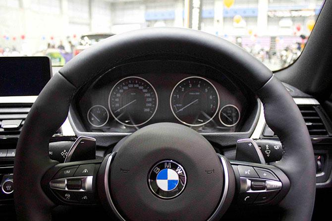 BMW435iクーペメーター画像