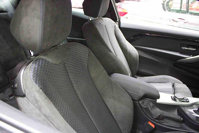 BMW435iクーペシート画像