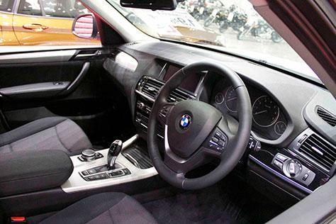 BMW X3 xDrive 20d 内装画像