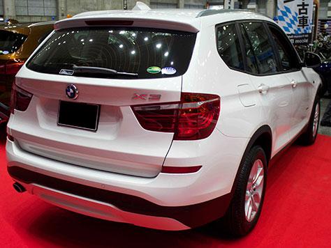 BMW X3 xDrive 20d 後部画像