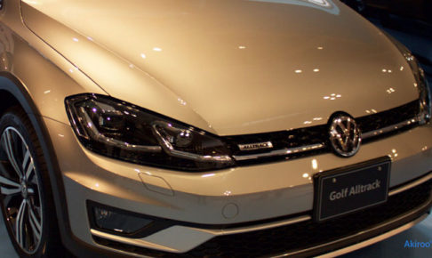 VW ゴルフ オールトラックのアイキャッチ