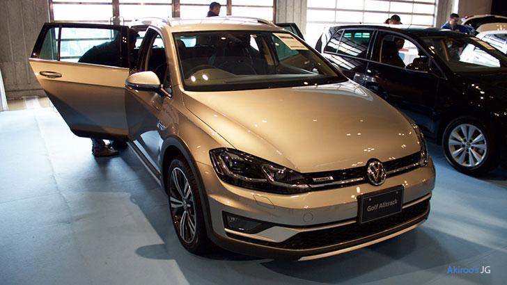 VW ゴルフ オールトラックのフロント