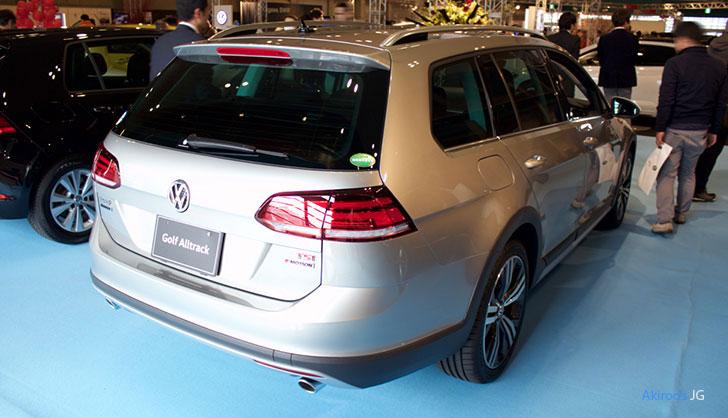 VW ゴルフ オールトラックのリア