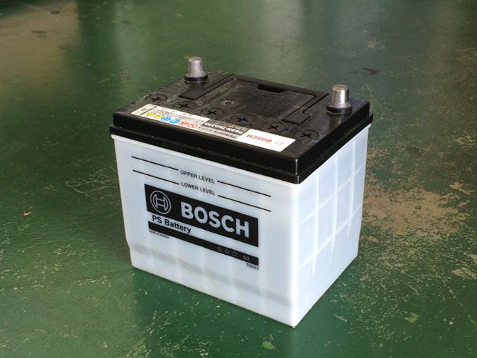 ボッシュPSバッテリー