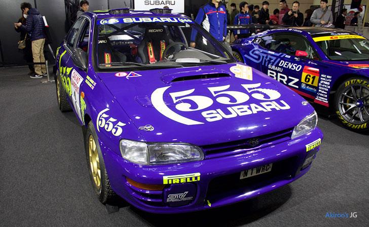 スバル・インプレッサ 555 WRC