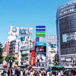 東京のスクランブル交差点