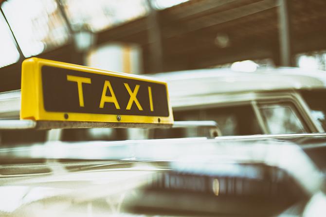サービス満点の個人タクシー