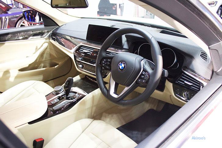 BMW523dのインテリア