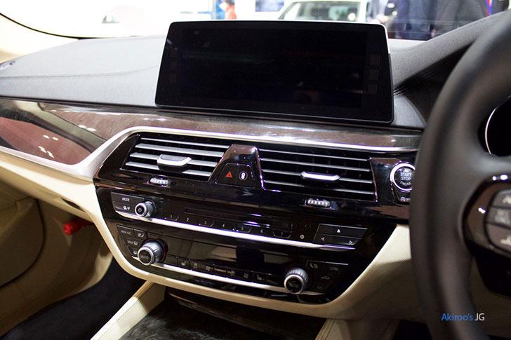 BMW523dのナビ