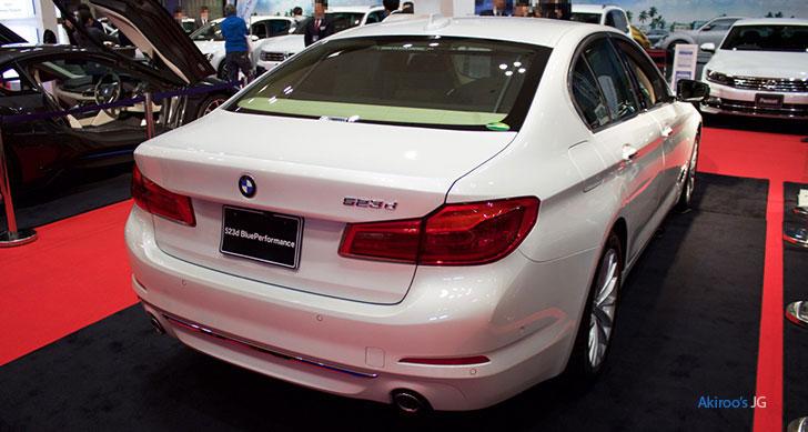 BMW523dのリア