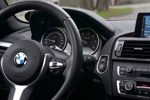BMWの左ハンドル