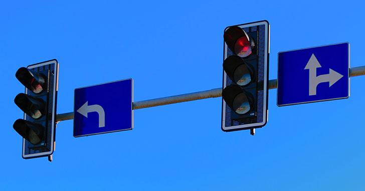 2つの信号機