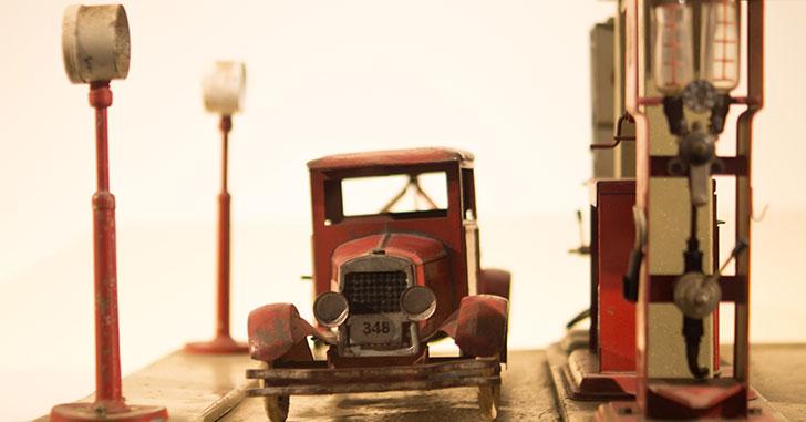 ものすごく古い車