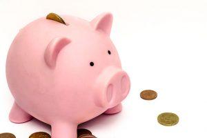 豚の貯金箱