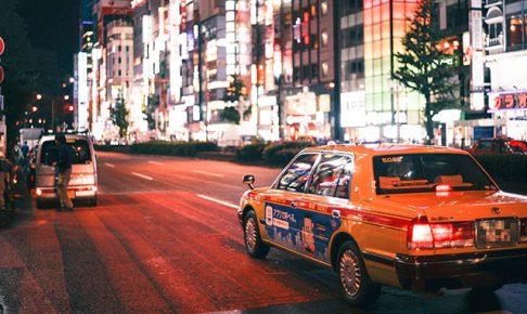 日本のタクシー