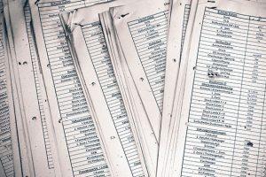 沢山の書類