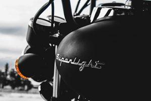 バイクのガソリンタンク