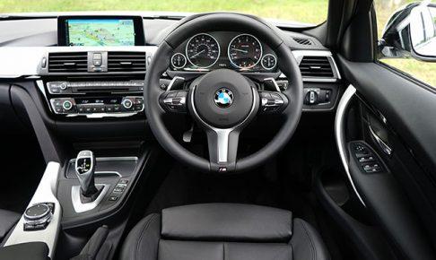 BMW3シリーズの内装