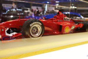 フェラーリF1・ミニカーのサイドビュー