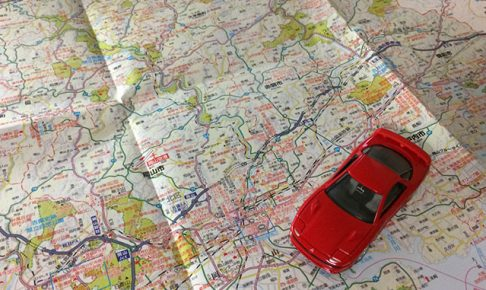 GTOと道路地図