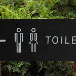 トイレの看板