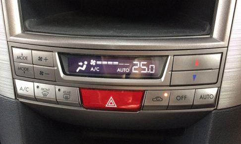 レガシィのエアコン