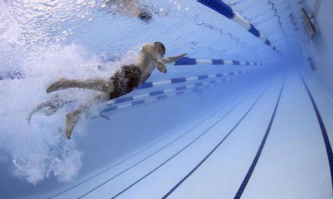 水泳のトレーニング