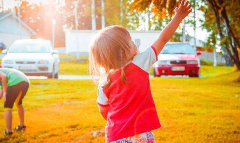 子供とドライブ