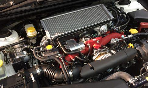 スバルWRXのターボエンジン