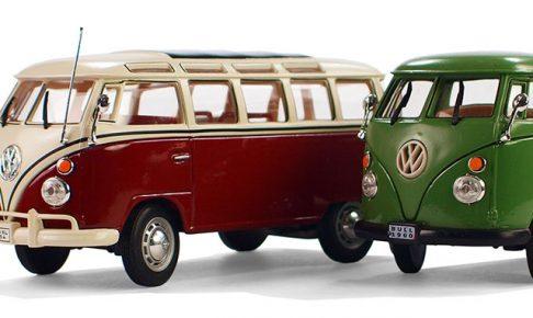 vwのトラックとワンボックスカー