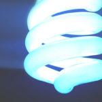 電球型の蛍光灯