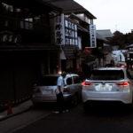 成田山の細い道