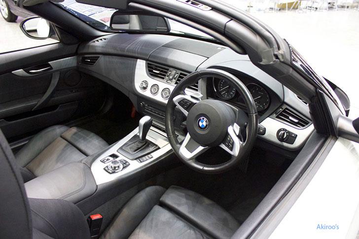 BMW Z4の内装