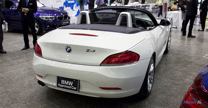 BMW Z4のリア