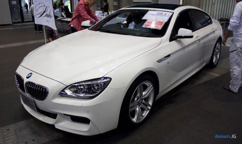 BMW 6シリーズ 640i グランクーペのフロント